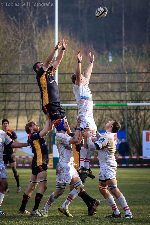 Die Rugby-Nationalmannschaft in der Rugby Europe Championship