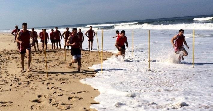 Die Vorbereitung der deutschen 7er Rugby-Nationalmannschaft