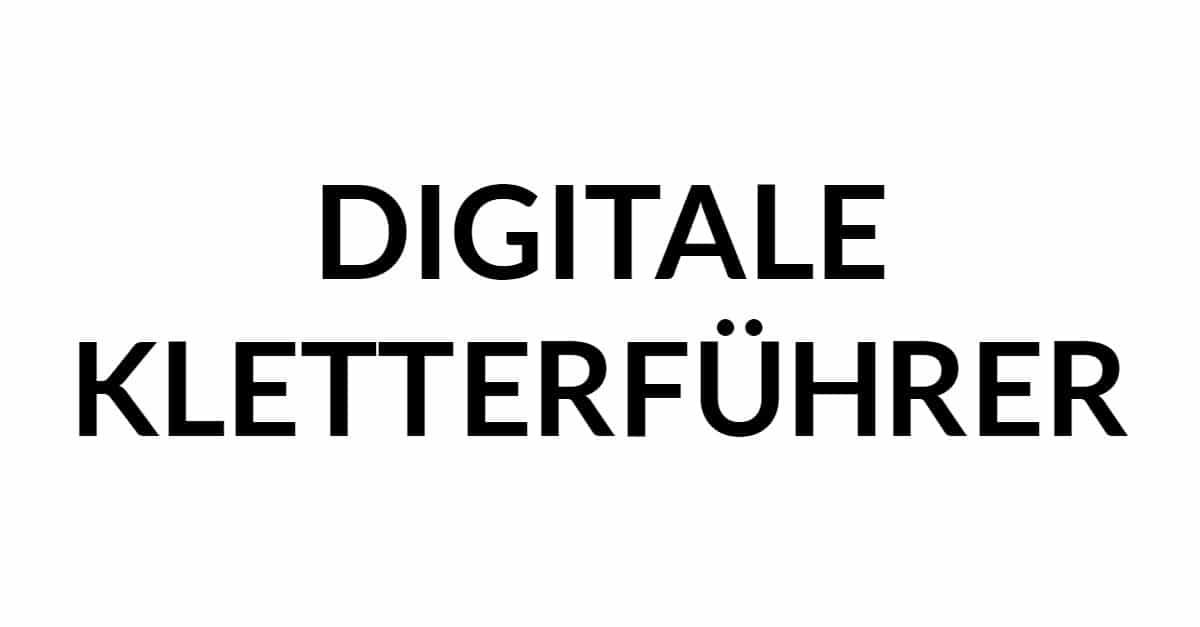 Digitale Kletterführer: Top Websites und Apps