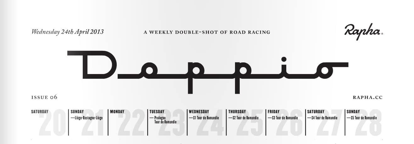 Doppio – das Straßenrennen-Bulletin von Rapha