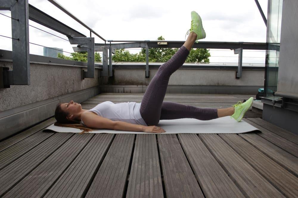 Effektives Bauchmuskeltraining für einen flachen Bauch