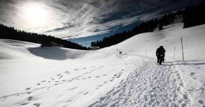 Eine Winterwanderung auf das Seekarkreuz bei Lenggries