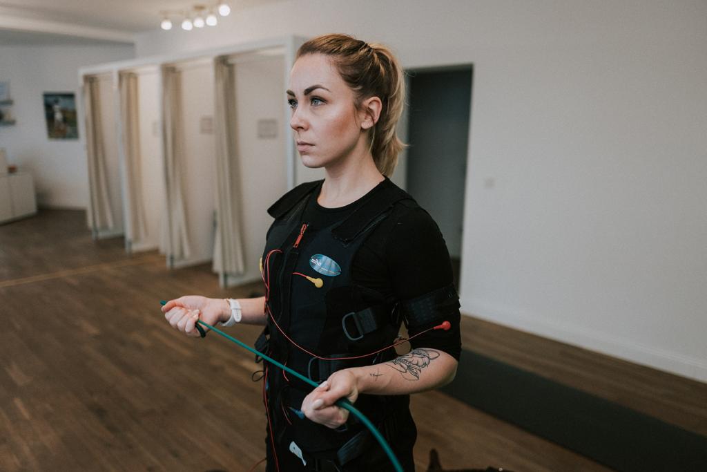 EMS-Training – Muskeln aus der Steckdose