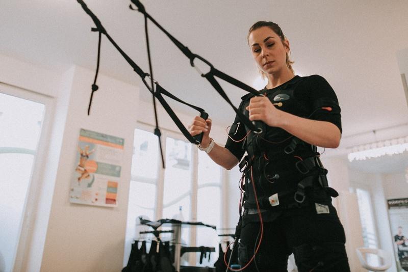 EMS-Training - Muskeln aus der Steckdose