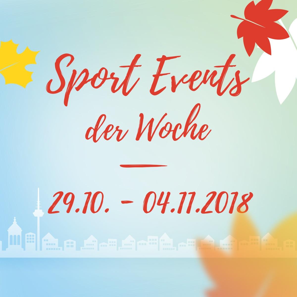 engelhorn sports Events der Woche