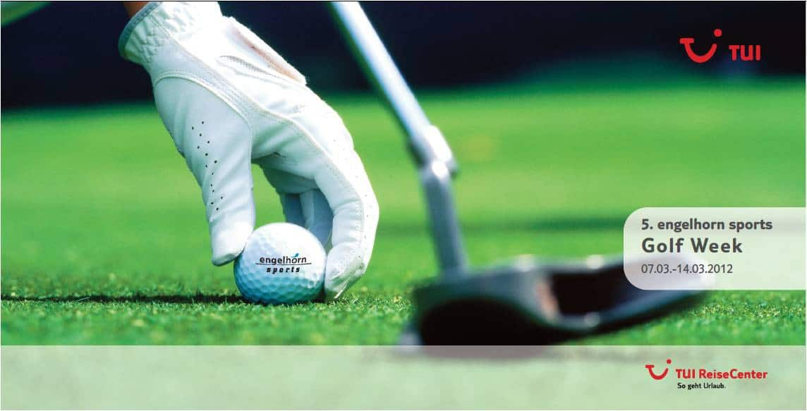 engelhorn sports Golf Week 2012 - Fusion von Sport & Entspannung im Golfurlaub