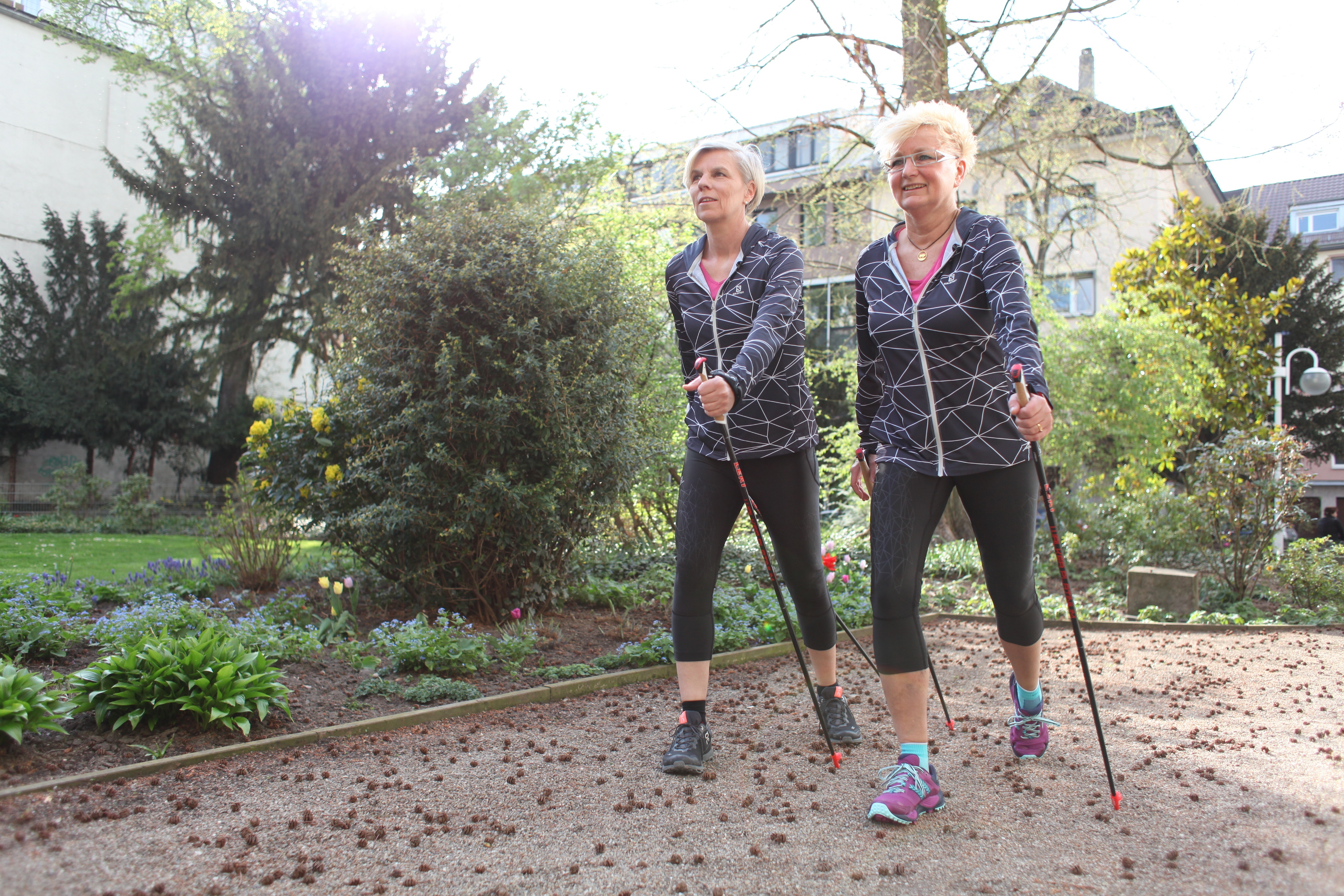 engelhorn sports Nordic Walking Treff