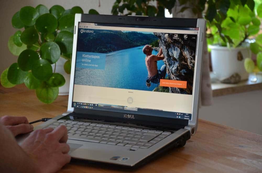 Enziano – ein neues Portal für Klettertopos