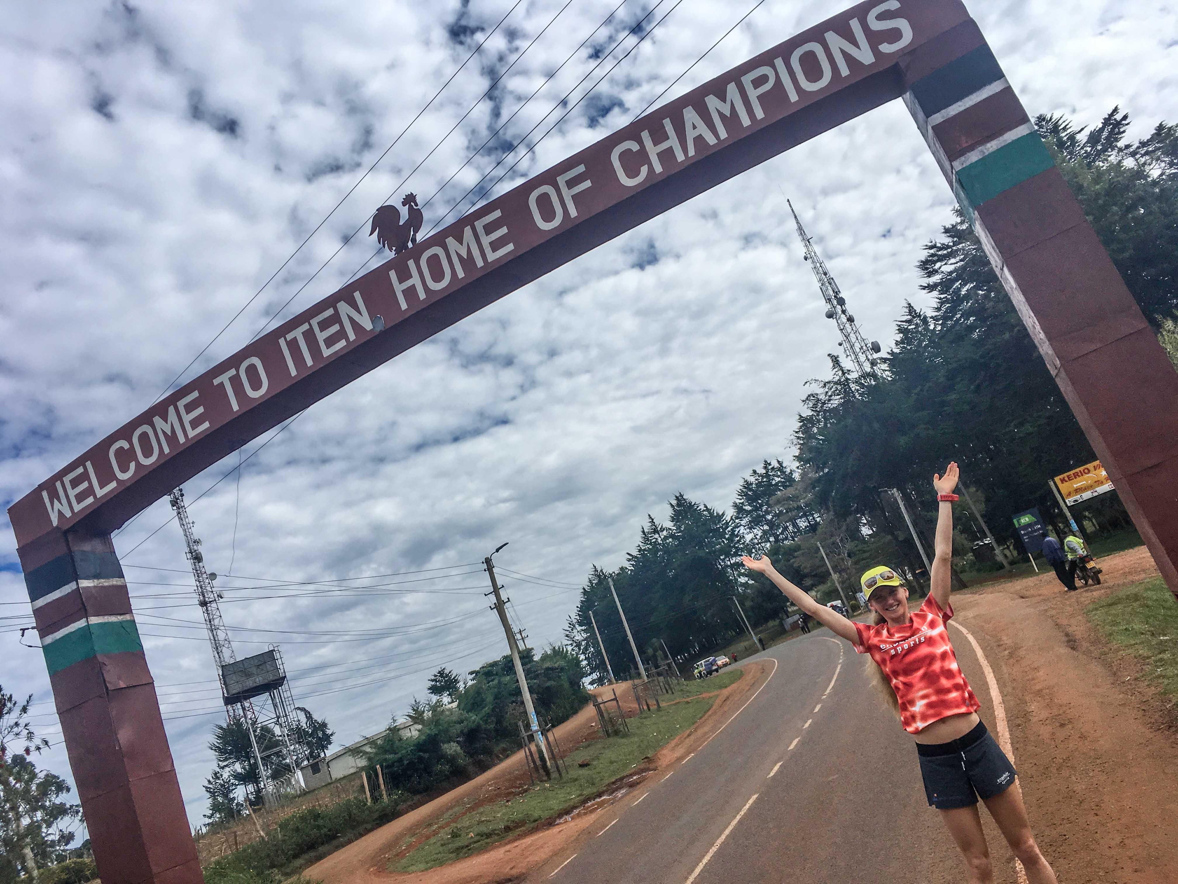 Fabienne Amrhein - Mein Trainingslager im Läuferland Kenia