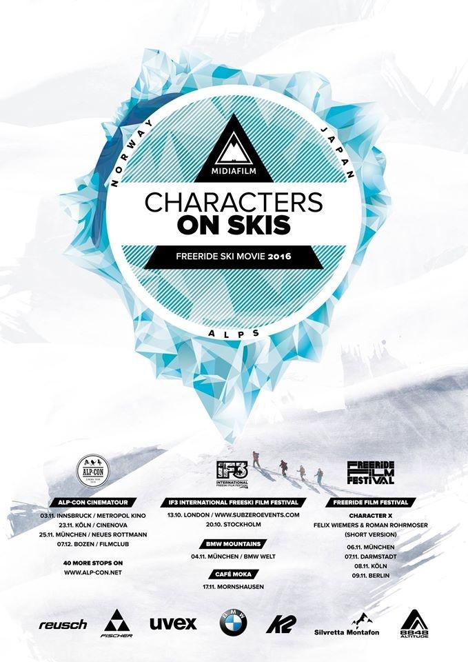 Felix Wiemers neuestes Werk: Characters on skis