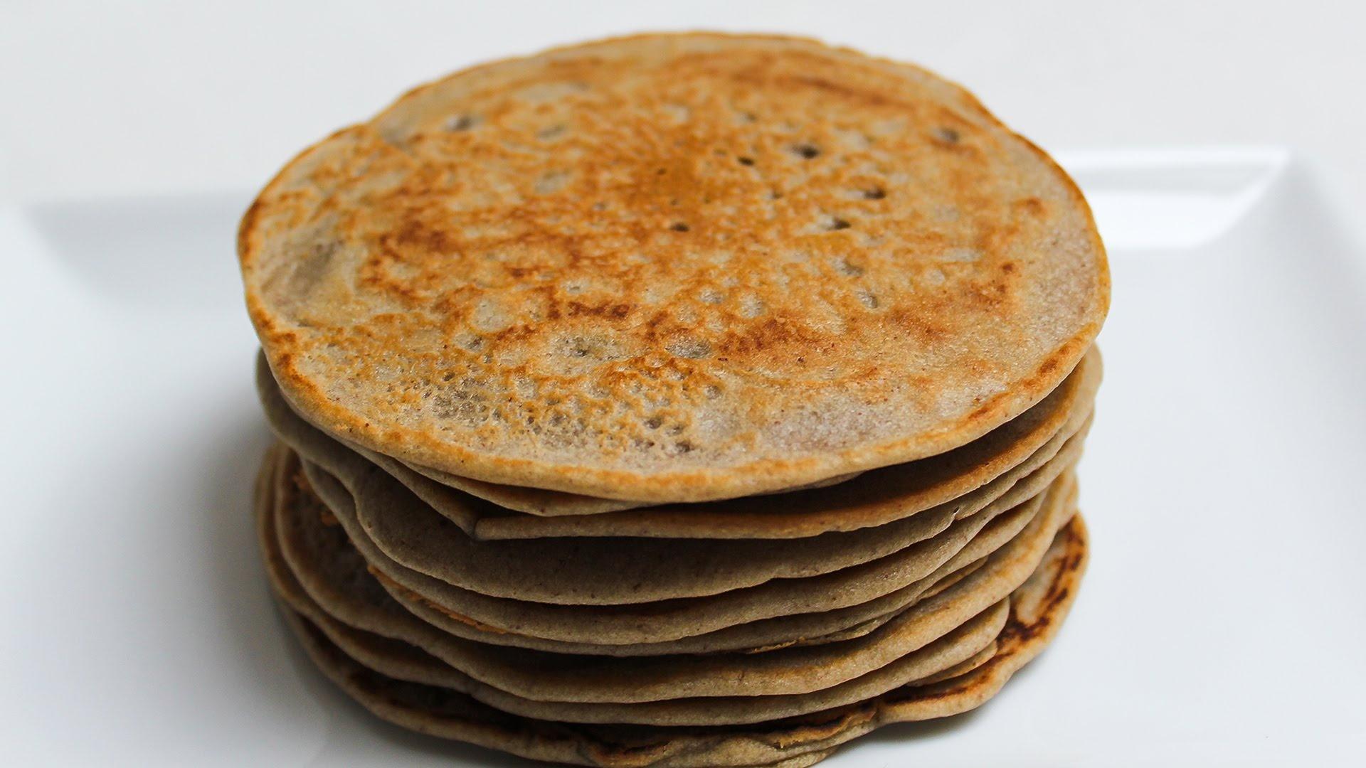 Buchweizen vegan pfannkuchen pancake vegan