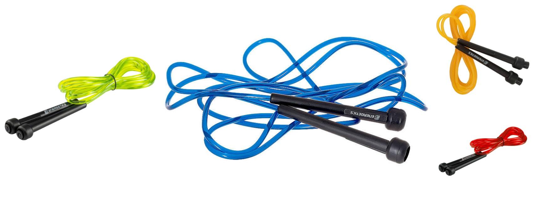 Springseil energetics blau gelb orang rot