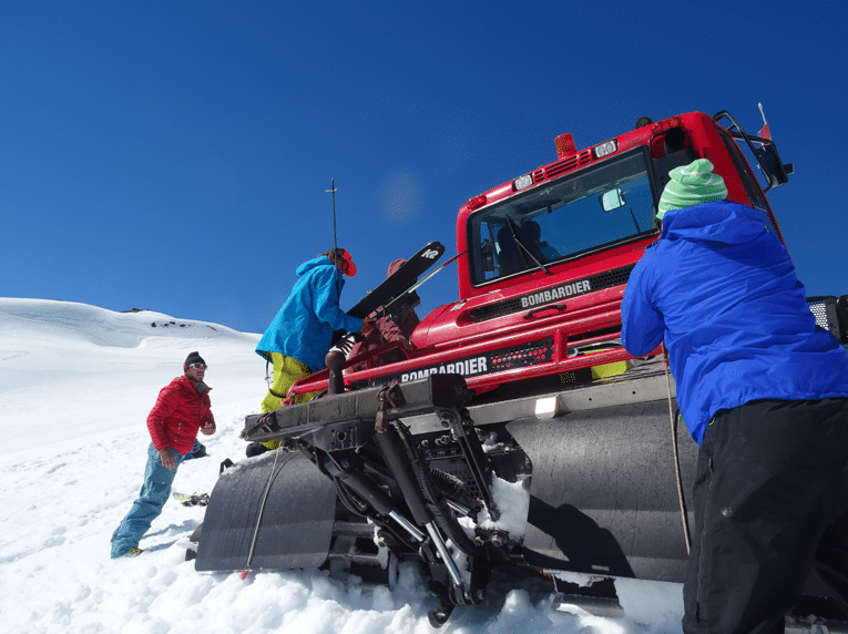 Freeriden in Chile - Noch mehr Action im Schnee