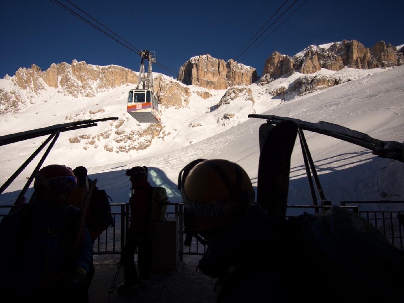 Freeriden in den Dolomiten – perfekte Verhältnisse und malerisches Panorama
