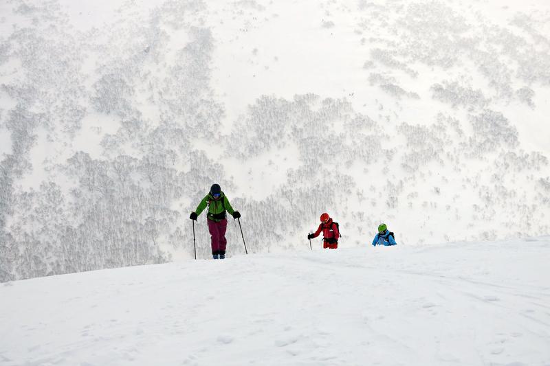 Freeriden in japan - 6 mädels in japow-Winter-Wonder-Land