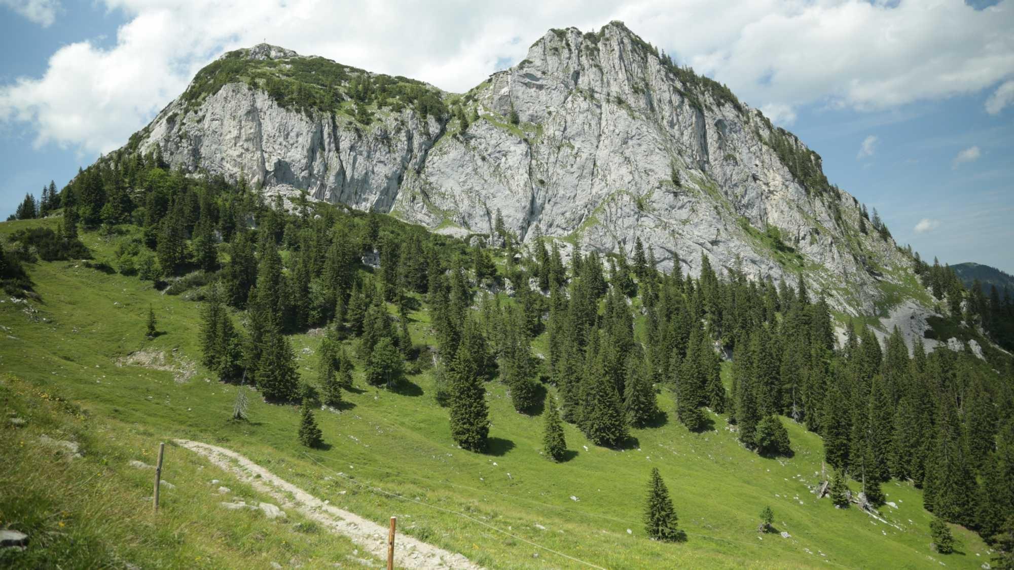 Frühjahrswanderungen mit Hütten-Einkehr unter 1.700hm