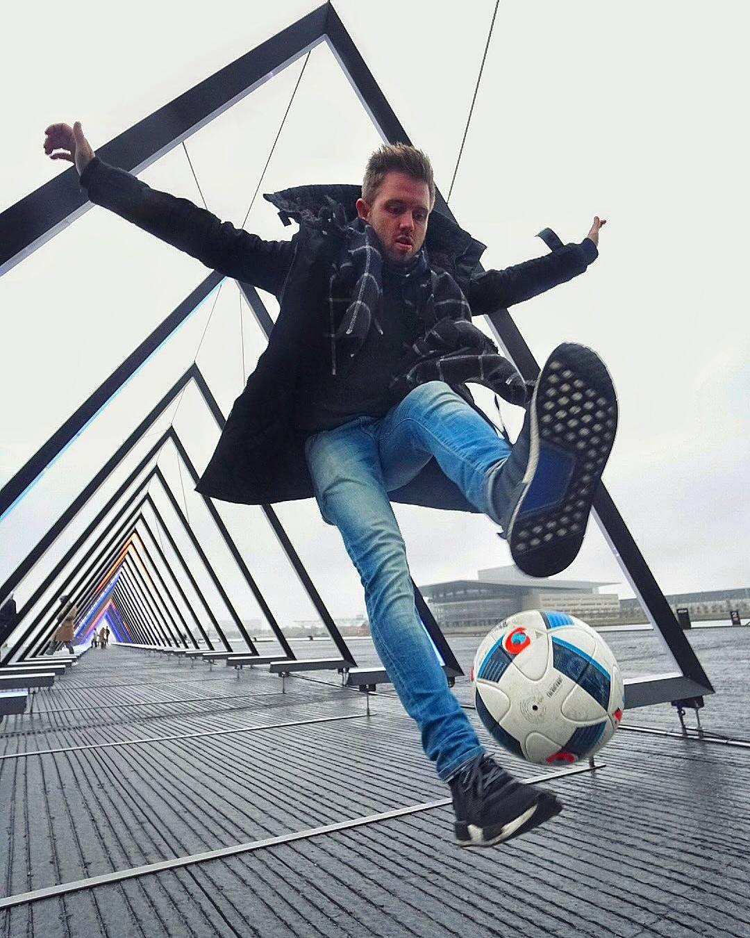 Fußball-Freestyle Treffen in Kopenhagen