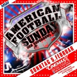 Gewinnspiel: American Football Sunday 2012