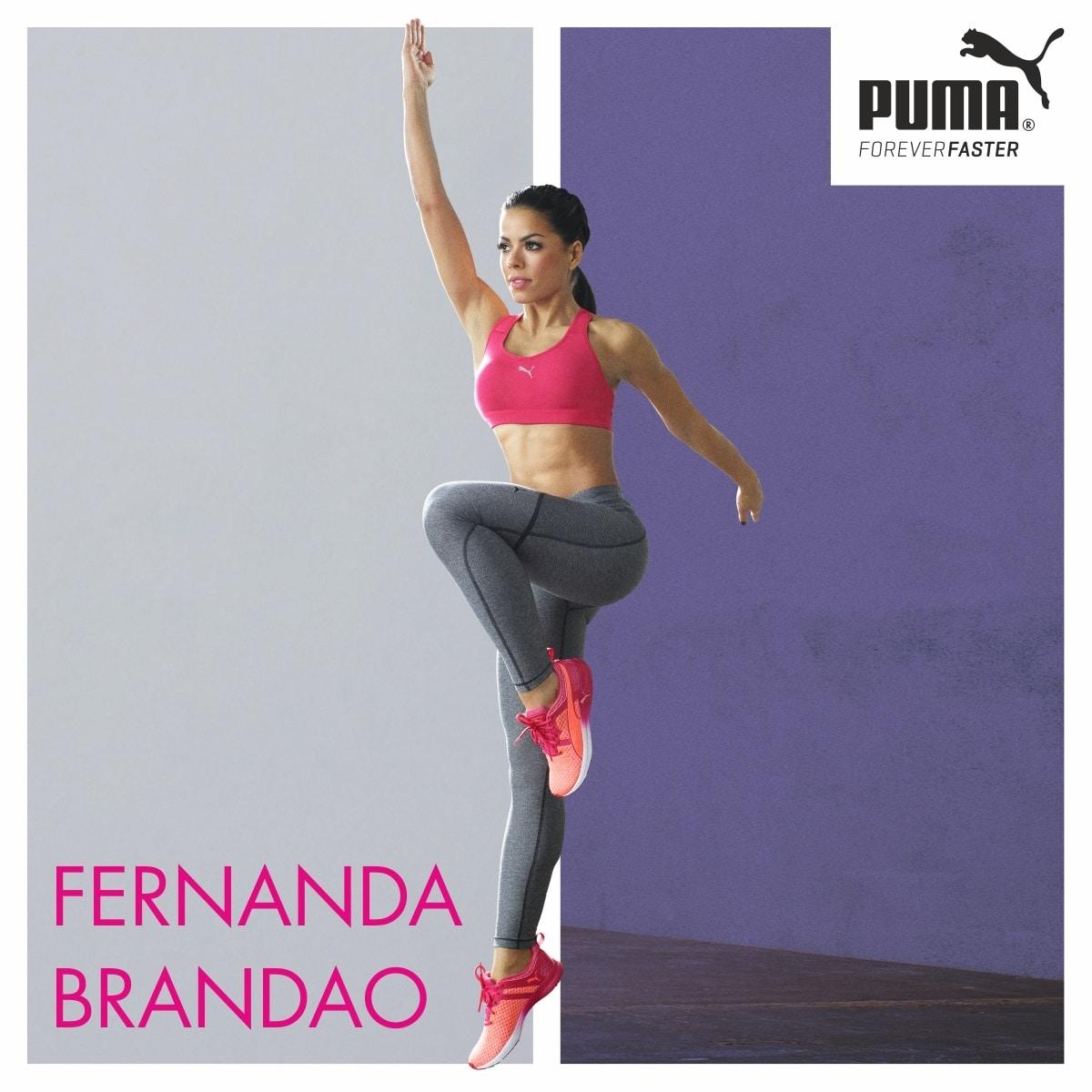 Gewinnspiel: Fitnesstag mit Fernanda Brandao und Puma