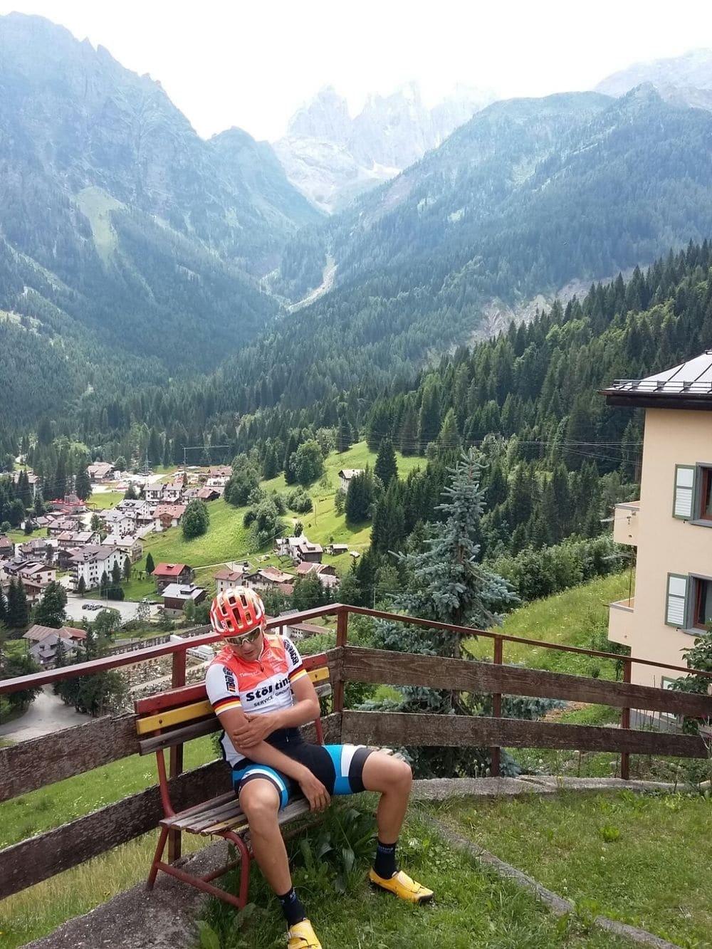 Höhentrainingslager in den Dolomiten