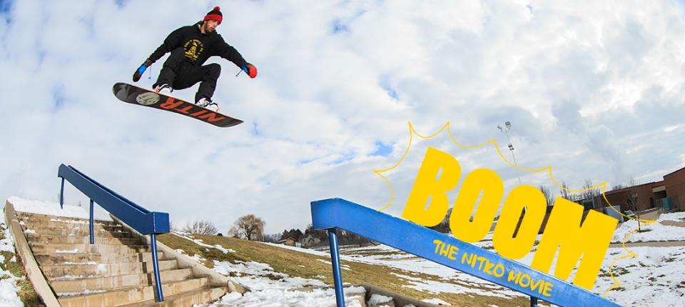 Boom Film Movie Snowboard Nitro