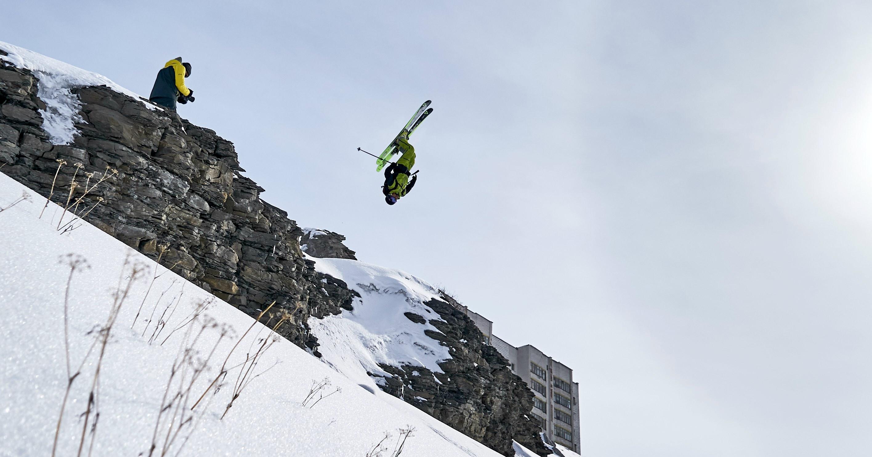How to: Backflip auf Skiern