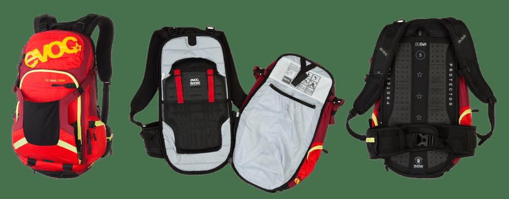 Im Test: Bikerucksack evoc Fr Trail Team 20l