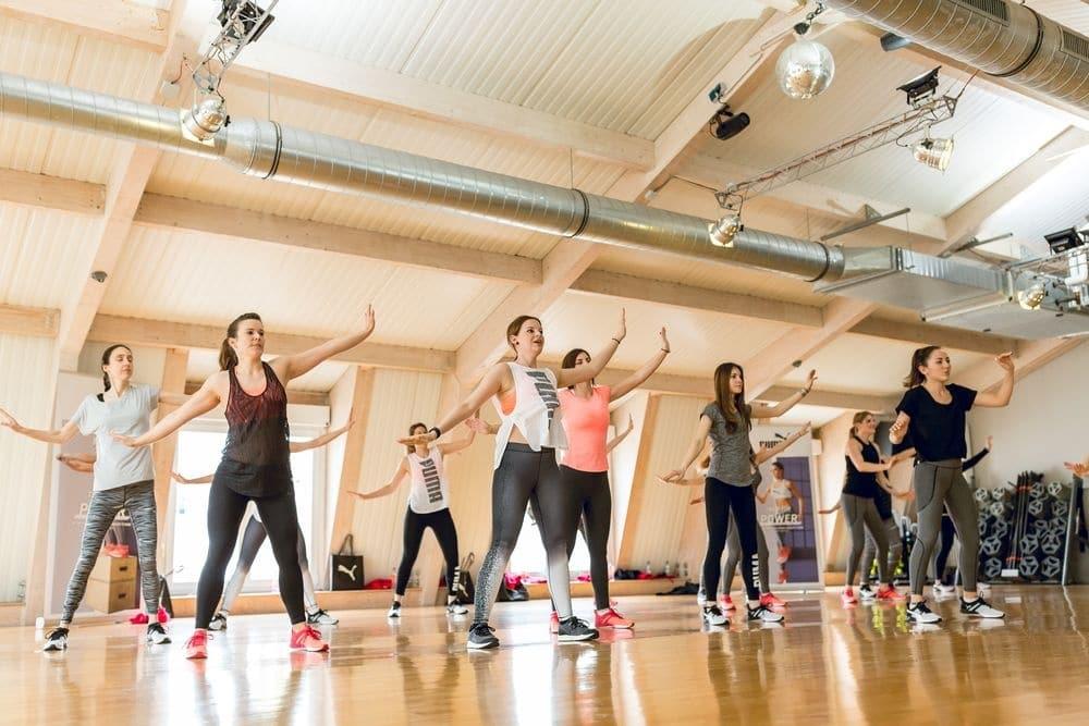 Impressionen vom Puma Fitnesstag