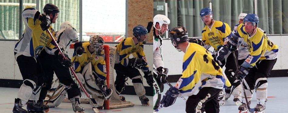 Inlinehockey – Anstrengung auf ganzer Linie