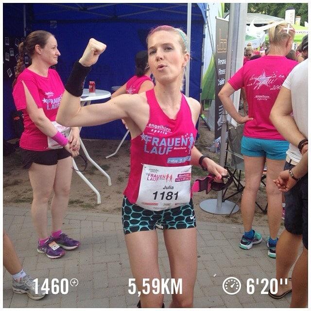 Julias Running Tagebuch: Frauenlauf Mannheim 2015