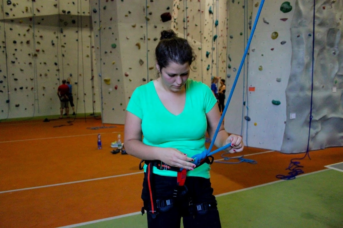 Klettern für Anfänger: Climb up your life!