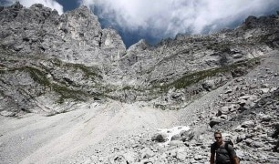 Klettersteig Ellmauer Halt: Der Gamsängersteig