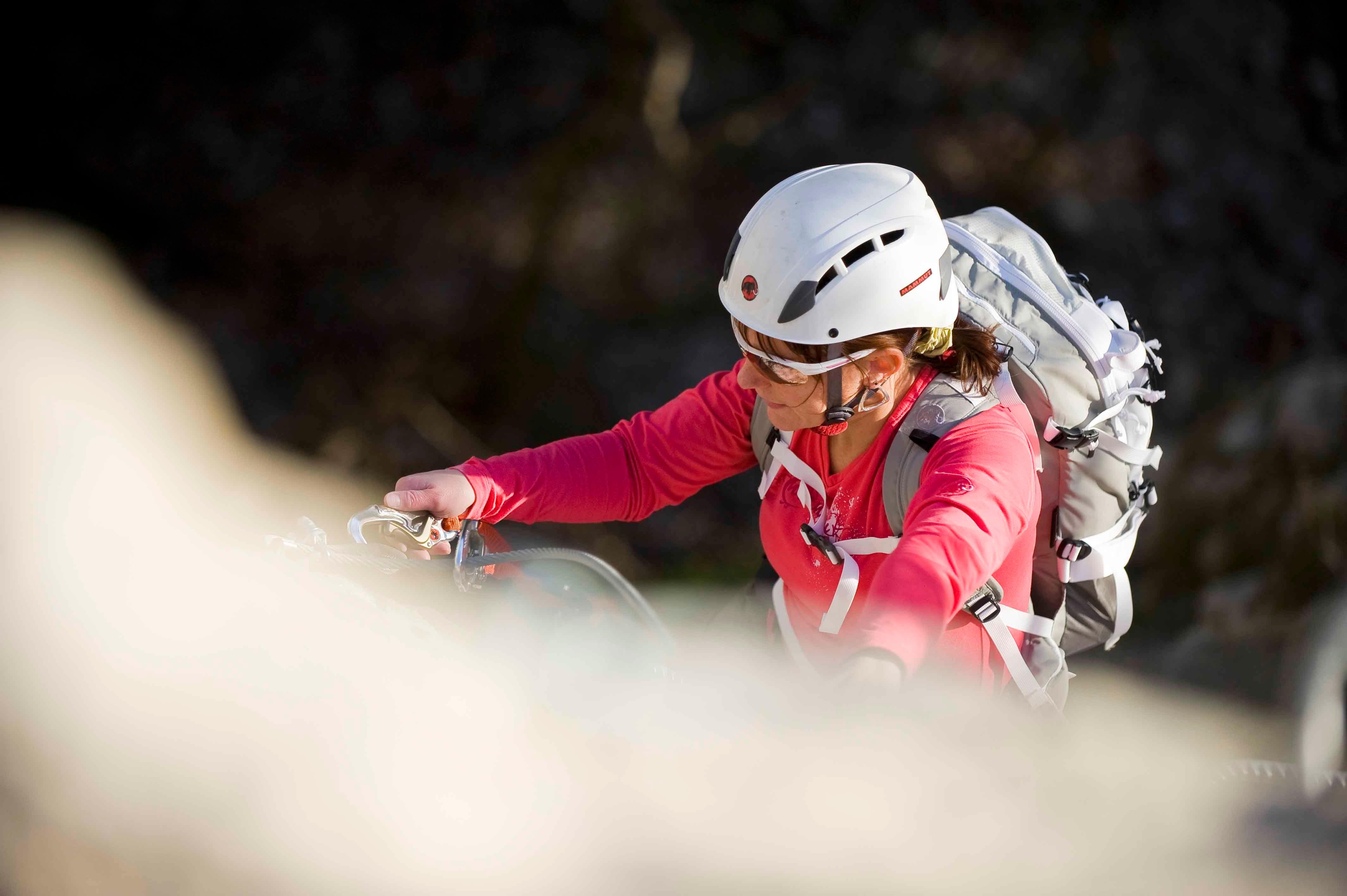 Klettersteigausrüstung: Das Klettersteigset