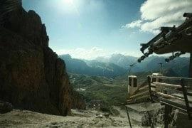 Klettersteige Dolomiten: Oskar-Schuster Klettersteig