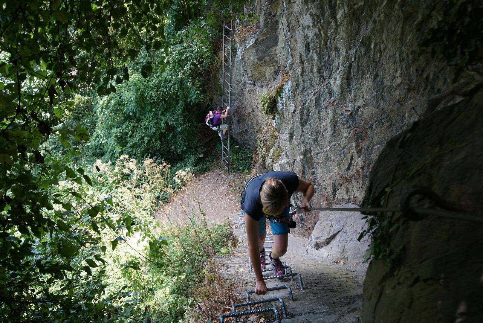 """Klettersteigen im UNESCO Welterbe """"Oberes Mittelrheintal"""""""