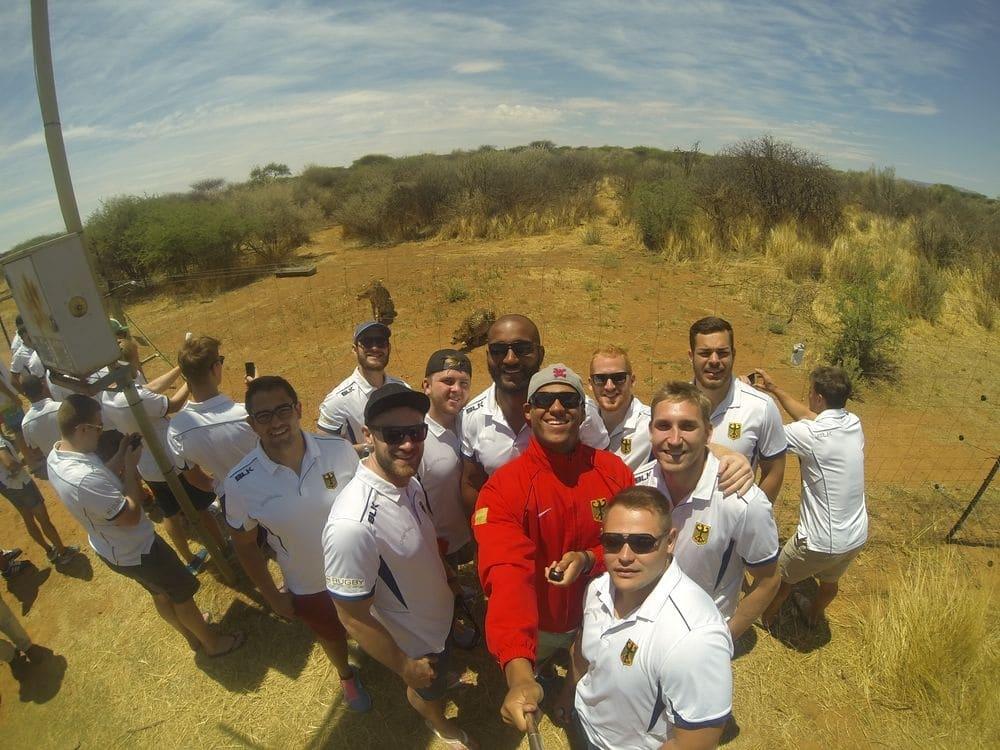 Länderspielreise der Rugby-Nationalmannschaft nach Namibia