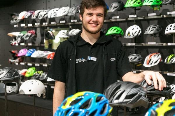 Le grand départ – Das Verkaufsteam der Bike-Abteilung legt los!