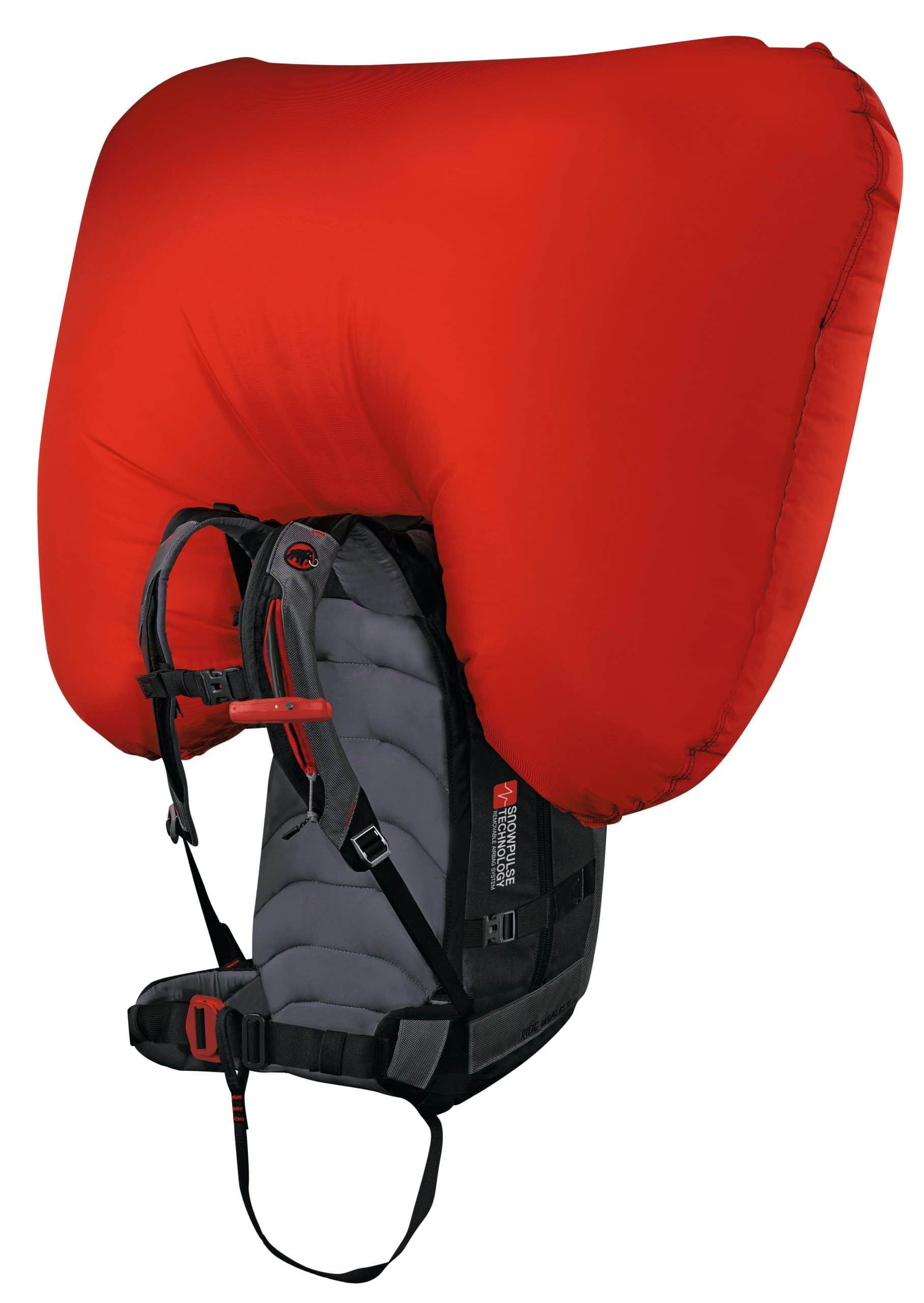 Lebensretter Lawinenairbag-Rucksäcke