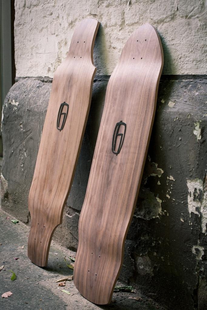 Longboards made in Germany – Olson & Hekmati bei engelhorn sports