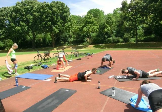 Luisenpark Workout