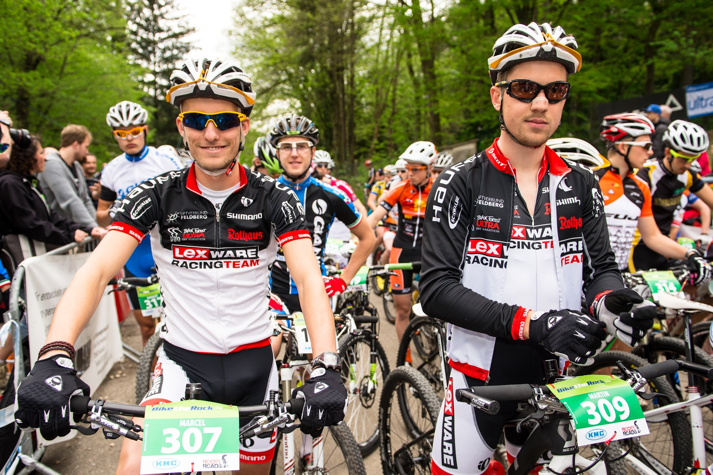 Marcel Fleschhut beim Mountainbike Worldcup