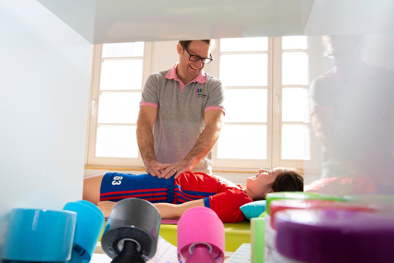 Marco Welz im Sporthaus - Lasst euch behandeln wie die Profis!