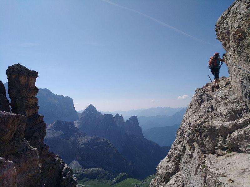 Mein erster Klettersteig - traue ich mir das zu? Teil 1