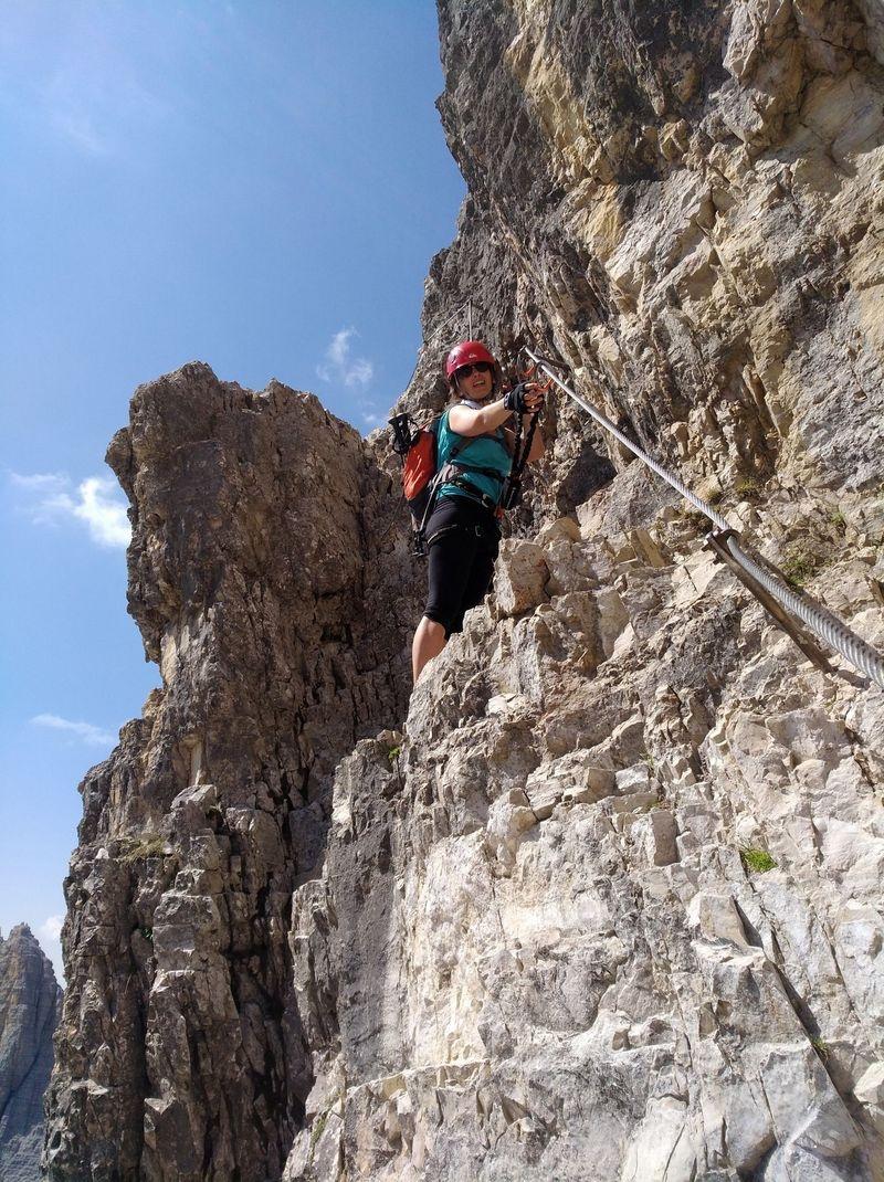 Mein erster Klettersteig – traue ich mir das zu? Teil 2