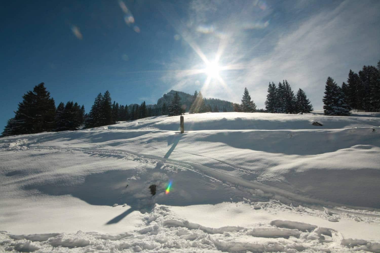 Mein Tourentipp: eine Schneeschuhwanderung zum Breitenstein