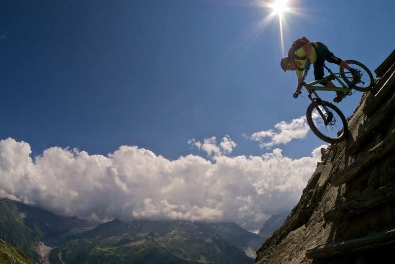 Mountainbiken in Chamonix