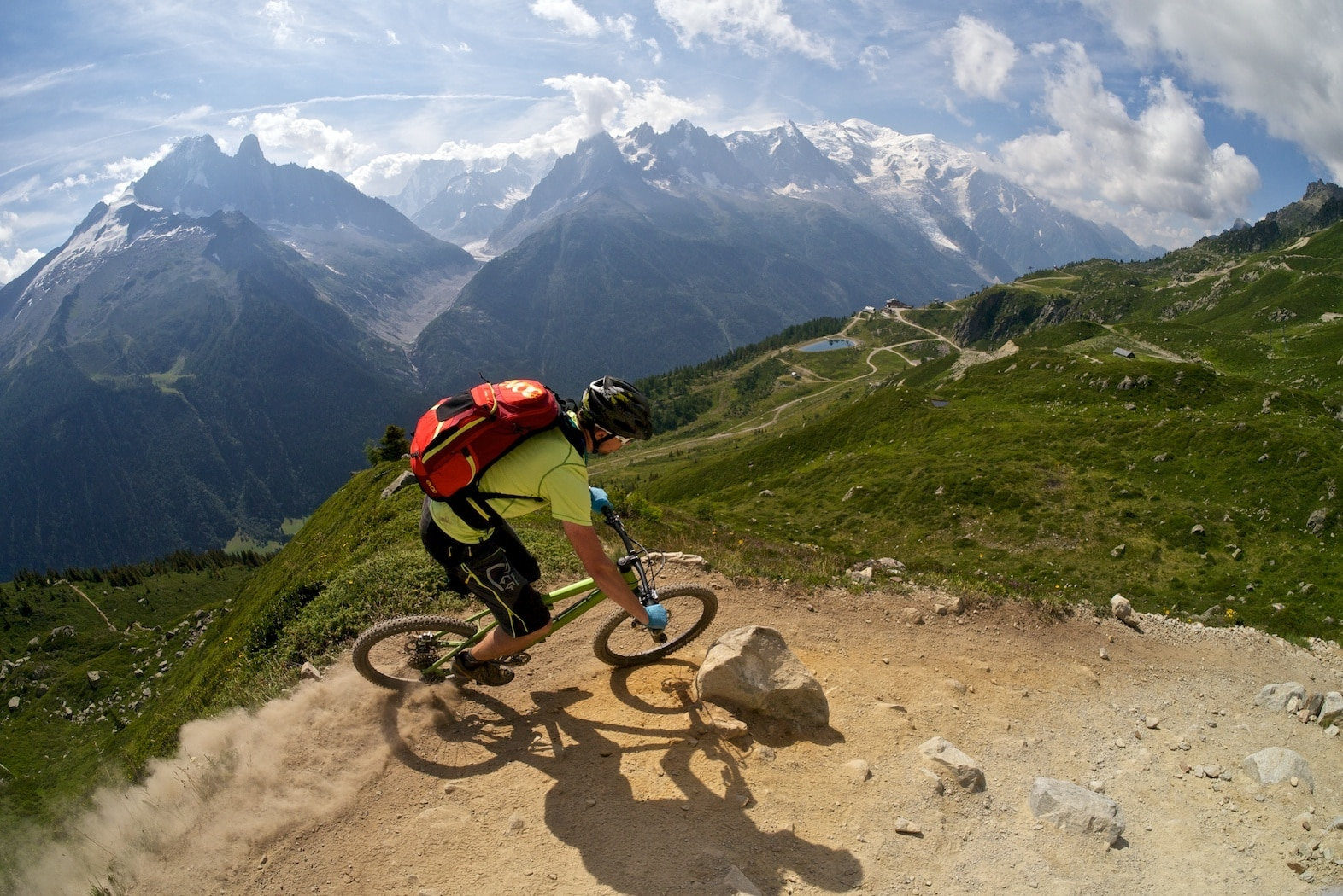 Mountainbiken in Chamonix