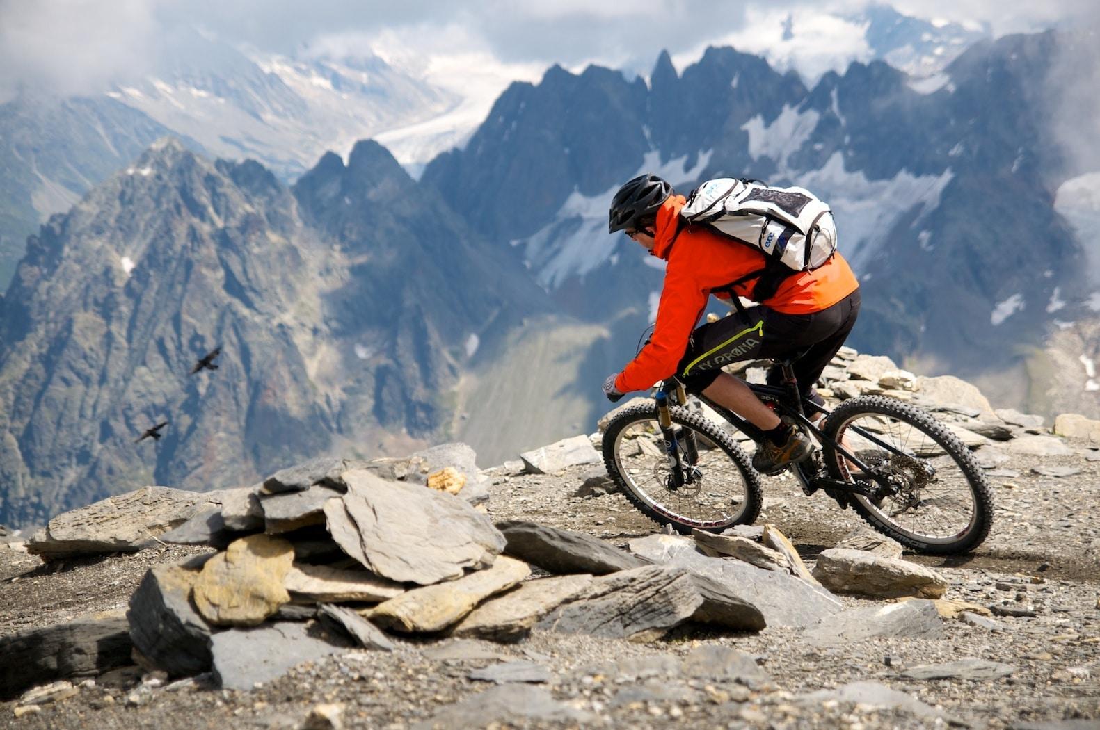 Mountainbiken ist der Mittelpunkt meines Sportler-Lebens