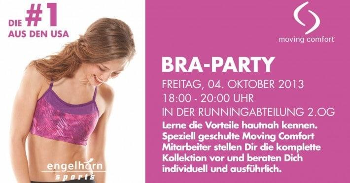 Moving Comfort - Bra-Party im Sporthaus