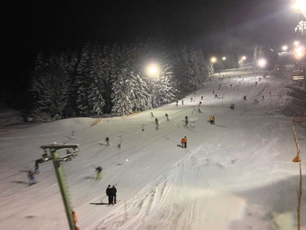 Nachts auf der Piste: Alpspitzbahn Nesselwang